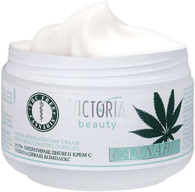 Hemp skin care CANNABIS EXTRACT DAY FACE CREAM INTENSIVE CREAM WITH ORGANIC HEMP OIL FOR DEEP NOURISHMENT SUPER MOISTURISER FOR SENSITIVE SKIN