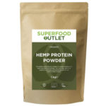 Superfood Outlet Organic Hemp Protein Powder uk hemp shop hemp protein powder