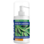 UK Hemp Cream for Pain Relief, 300ml Joint Muscle Massage Gel with Active Hemp for Aches Pains UK Hemp Shop