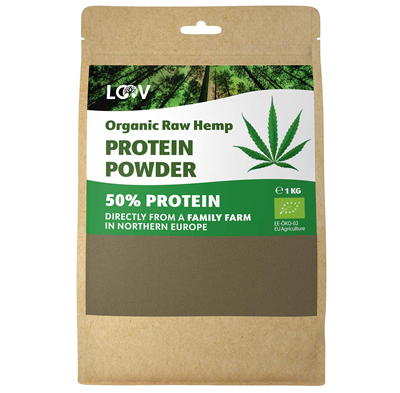 Organic Raw Hemp Protein Powder Protein Organically Grown hemp uk shop