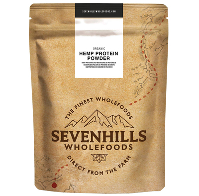 Sevenhills Wholefoods Organic hemp protein from uk hemp shop